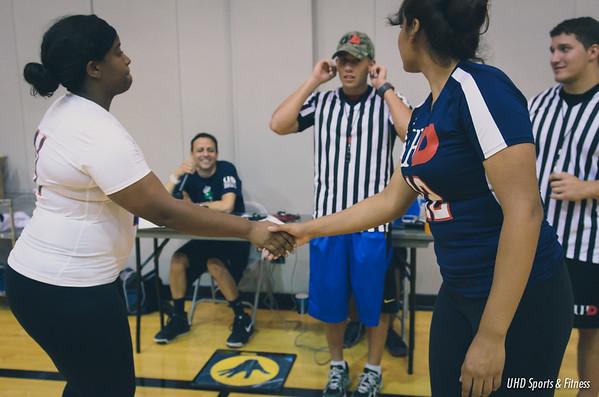 10-20-14 UHD Women's Volleyball Alumni Game
