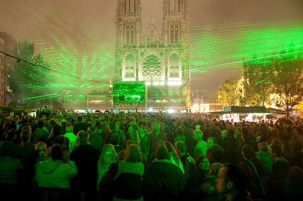 Slot 38ste Paulusfeesten - Lasershow