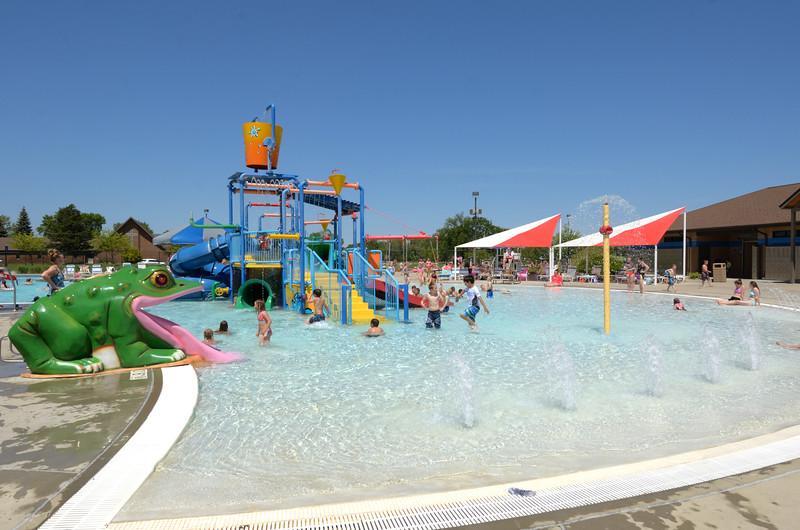kid's pool at aberdeen aquatic center