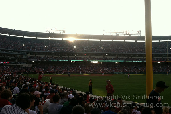 Red Sox-Angels - August 9, 2014