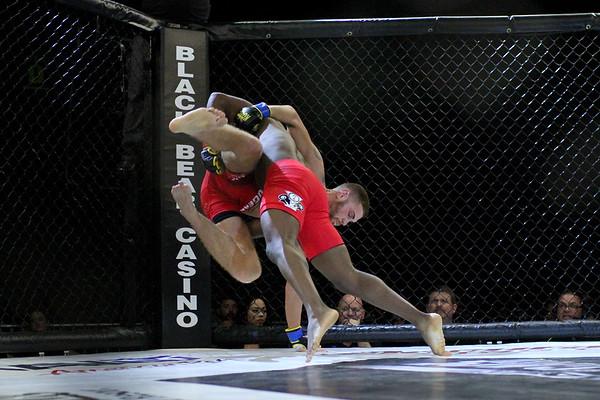 Jimmy Zidek vs Ben Pierre-Saint