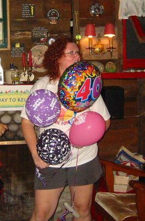 Kelly's 40th Birthday!!