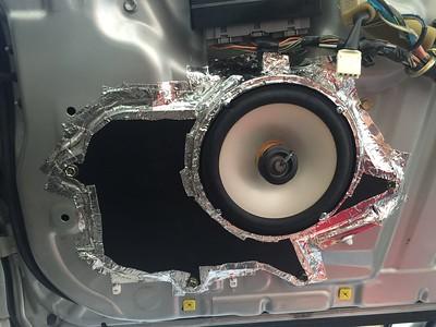2000 Lexus GS300 Non Navi Pioneer Premium Front Door Speaker Installation - USA