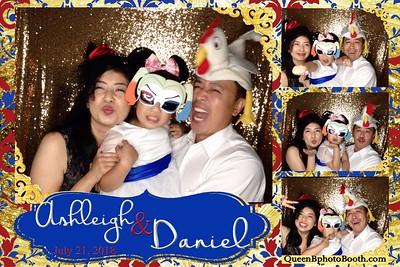 Ashleigh and Daniel Wedding