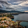 Dark clouds over Sorrento