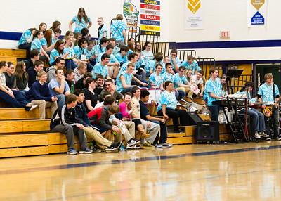 2013 Aquinas Girls Basket Ball vs West Salem