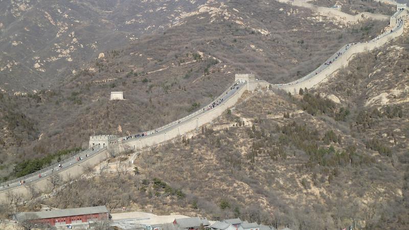 Great Wall of China, Beijing (Nov 2010)