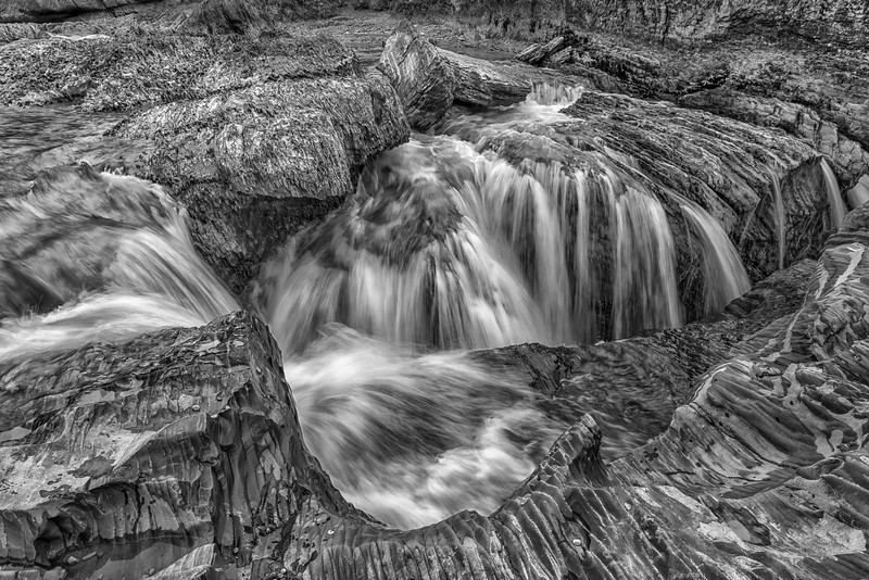 Kicking Horse River Chute