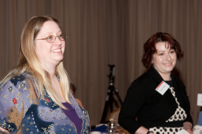Sarah Eyermann and Sara Mitchell -- SP Systems, Inc Fourth Annual Business Meeting & Luncheon, Greenbelt, MD