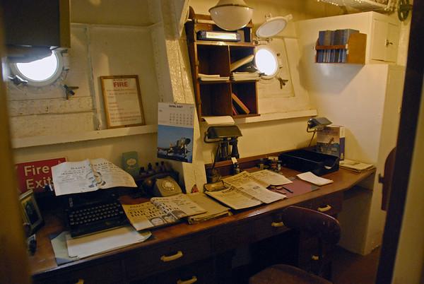 HMS Cavalier at Chatham