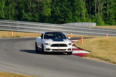 2020 SCCA July TNiA Pitt Race Interm White Mustang