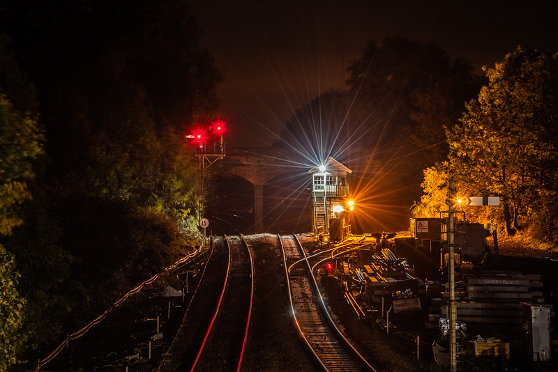 Reedham Junction By Night