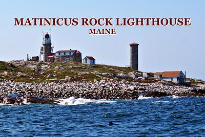Matinicus Rock Light, Maine