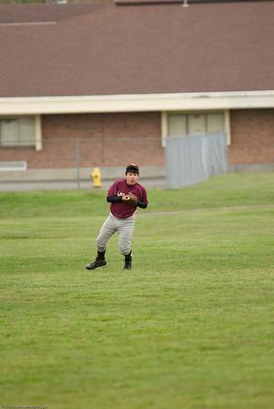 Mr. T vs. El Rancho, u13 Babe Ruth, May 2, 2008 played at Pioneer Park, field 1
