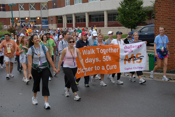 MS Challenge Walk 2008