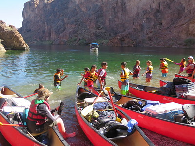 Seventh Grade Colorado River Trip