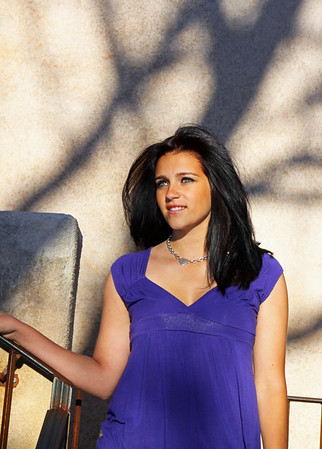 Photo Shoot, Brooke Biermann; Tlaquepaque, Sedona/AZ; April 10. 2011