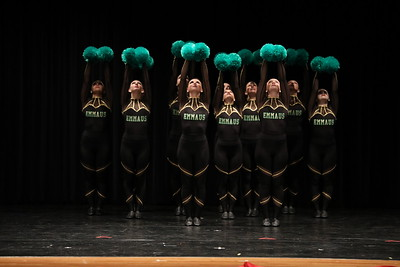 23 Emmaus High School Dance Team