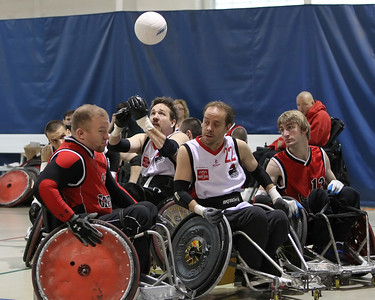 Atlantic Sectionals Wheelchair Rugby (Murderball) - New York Warriors v East Coast Cripplers