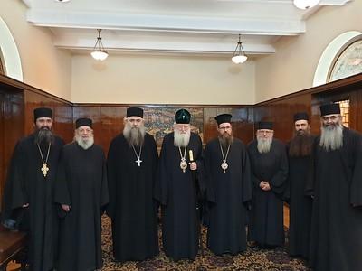 24/9/2019 Συνάντηση με Πατριάρχη Βουλγαρίας κ.κ. Νεόφυτο