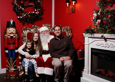 Family Photos with Santa