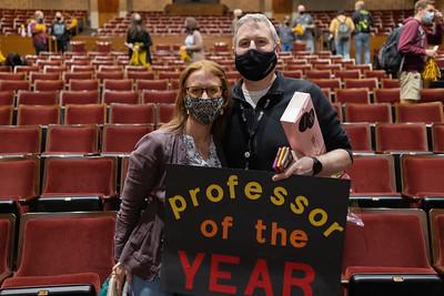 2021 Professor of the Year - John Wertz