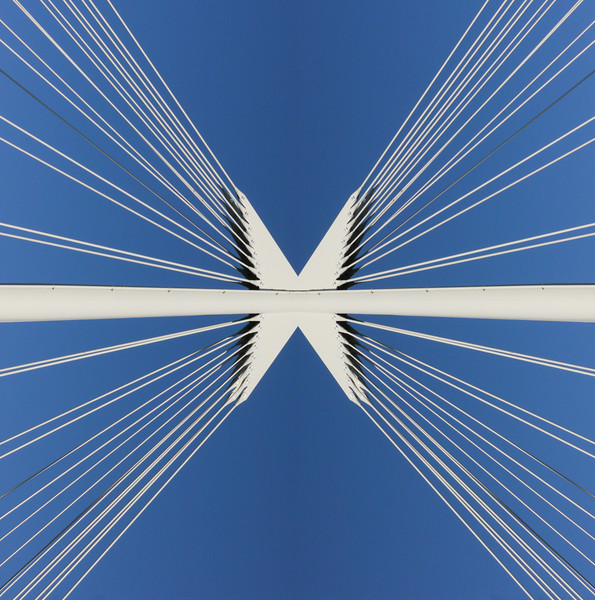Cables and Sky~1403-3sq.