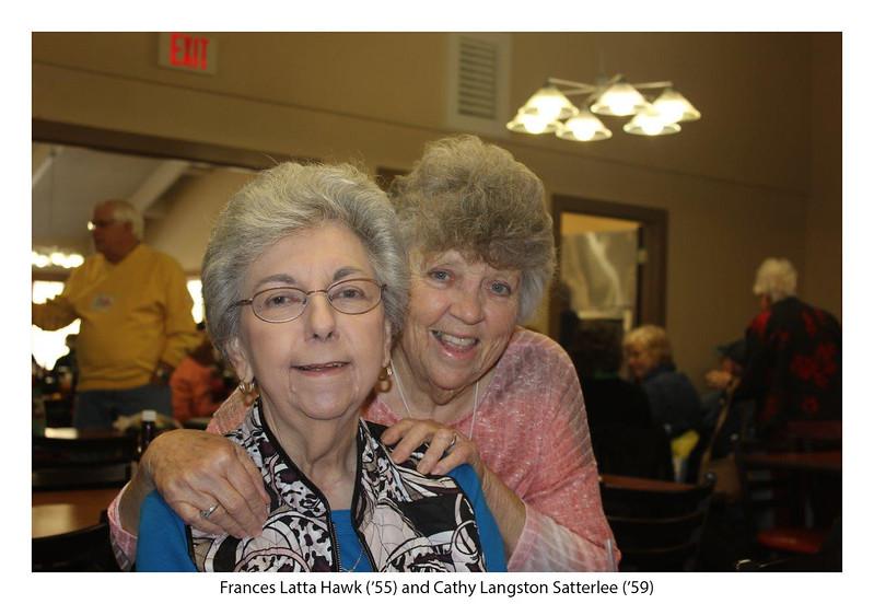 Frances Latta Hawk '55 and Cathy Langston Satterlee '59.jpg