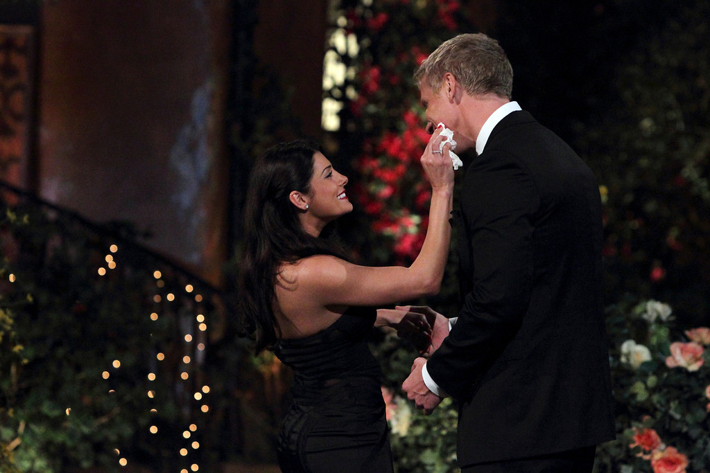". Bachelor Nation was shocked when fan favorite Sean Lowe was left heartbroken on a beach in Curacao earlier this year. He is back as the Bachelor and ready to risk it all again for another chance at love. He begins the search for his soul mate, choosing from among 26 beautiful bachelorettes, when the 17th edition of ""The Bachelor\"" premieres MONDAY, JANUARY 7, 2013 (8:00-10:01 p.m., ET) , on ABC. (ABC/RICK ROWELL)"