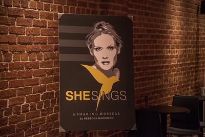She Sings Premiere with Rebecca Magnuson