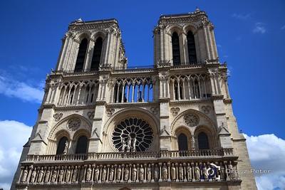 Reims, Notre Dame, Arc de Triomphe (Diadalív), 1. nap, 2015.08.14.
