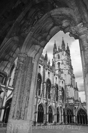 Canterbury in Black and White