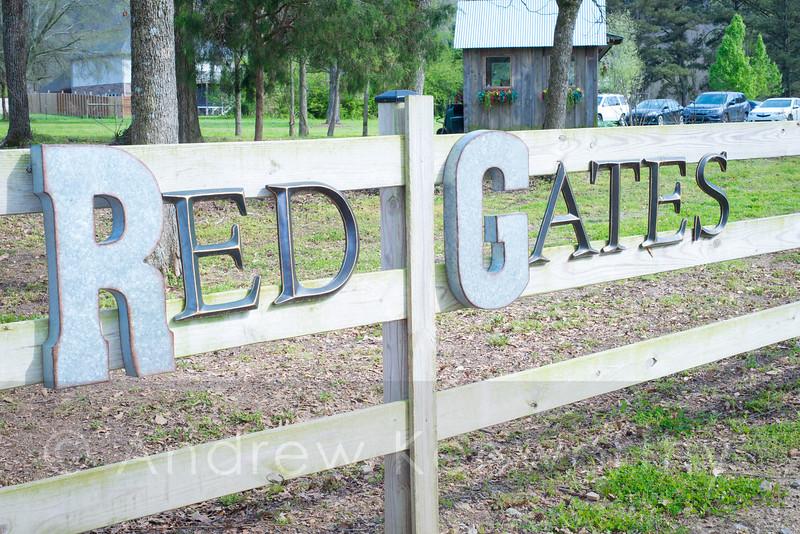 Red Gates at Kelly Creek