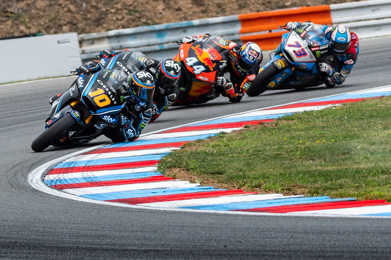 Luca MARINI, Francesco BAGNAIA and Miguel OLIVEIRA, Czech Republ