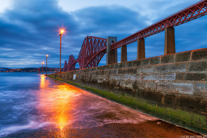 Light by the Forth Rail bridge