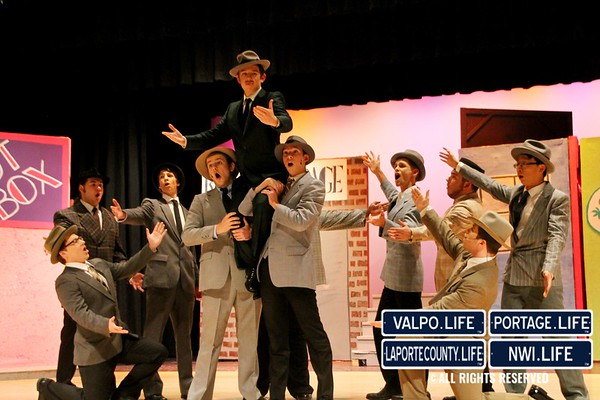 2015 VHS Guys and Dolls Dress Rehearsal