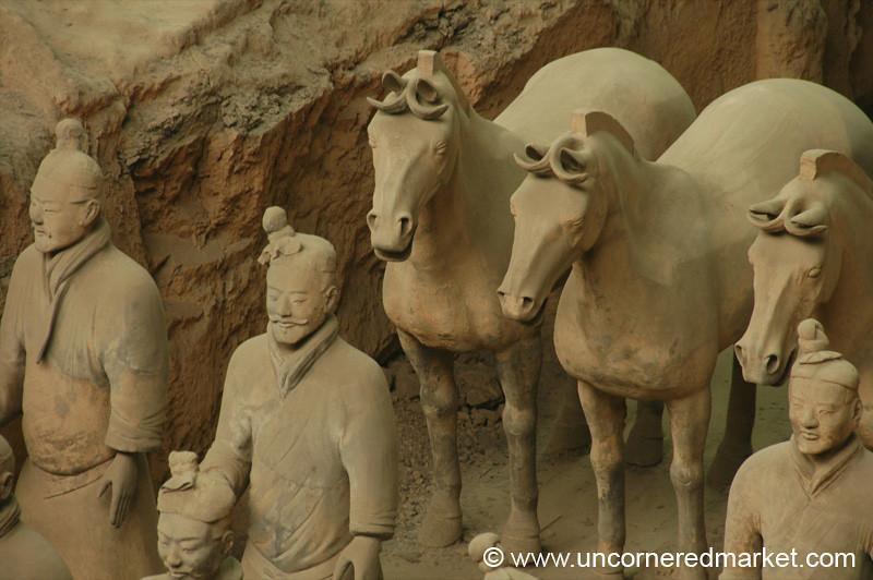 Terracotta Warriors and Horses - Xi'an, China
