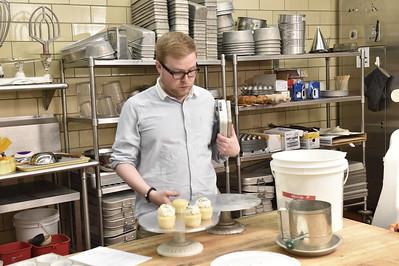 30509 E Gordon Gee Birthday Message Baking Cake Towers Kitchen 2015