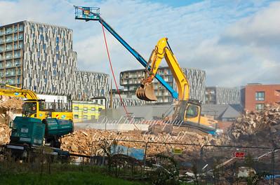Connaught Estate. Demolition and rebuilding