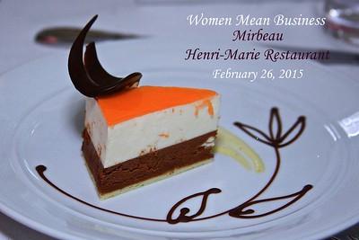 Mirbeau Henri Marie Restaurant  2/26/15