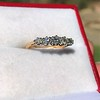0.48ctw Vintage Transitional Cut Diamond 5-stone Band 9