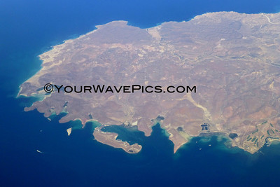Aerial Views from La Paz to Orange County 3/11/13