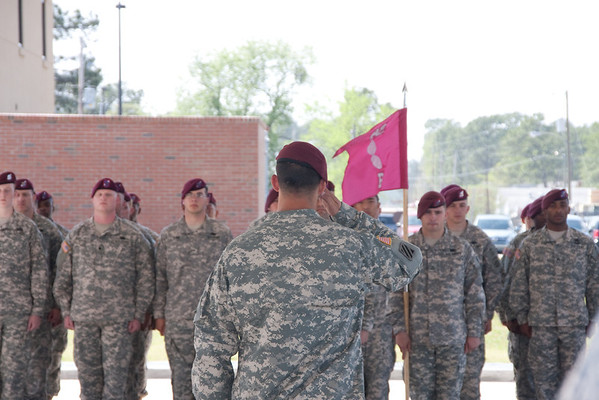 B Co, 82nd BSB Change of Command