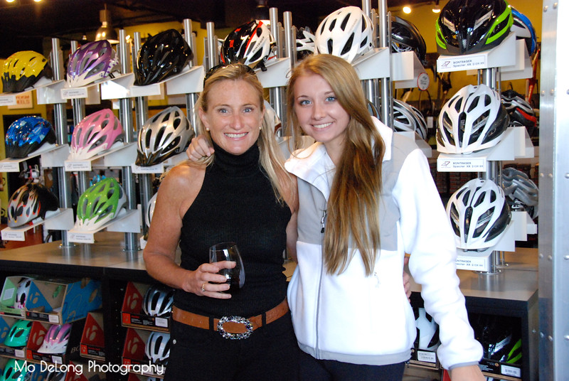 Lizzy Frost and Lori Capshaw