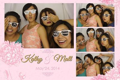 Kathy & Matt's Wedding (Luxury Photo Booth)