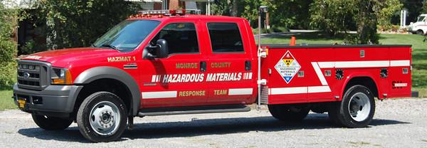 Monroe County HazMat Response Team
