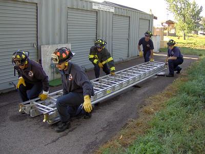 50' Ground Ladder Training