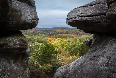 Garden of the Gods Shawnee National Forest October 2017