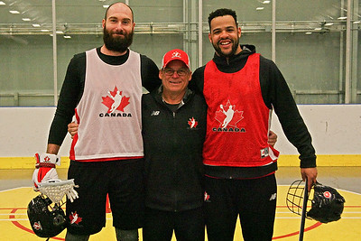 Group photos of Team Canada for NLL Teams (Photo Credit: Larry Palumbo/Coyote Magic Productions)
