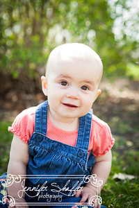Roxie 6 Month Photo Highlights